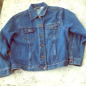 Vintage Bill Blass Denim Blue Jean Jacket